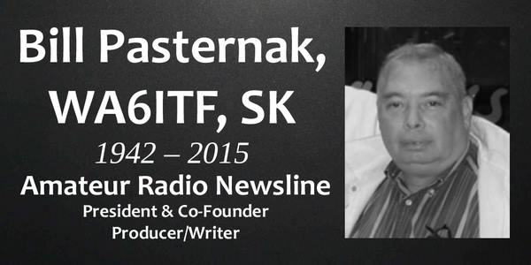 William (Bill) Pasternak – WA6ITF (SK) memorial and tribute